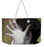 The Hand Weekender Tote Bag