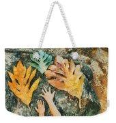 The Hands 2 Weekender Tote Bag