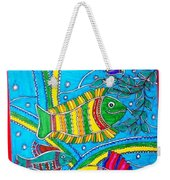 The Happy Fishes Weekender Tote Bag