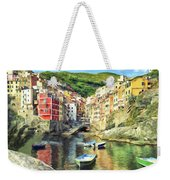 The Harbor At Rio Maggiore Weekender Tote Bag