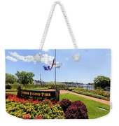 The Harbor Island Park In Mamarineck, Westchester County Weekender Tote Bag
