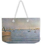 The Harbour At Portrieux Weekender Tote Bag