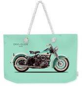 The Harley Duo-glide 1958 Weekender Tote Bag