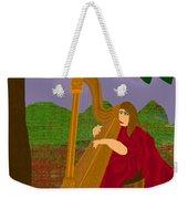The Harpist Weekender Tote Bag