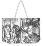 The Harrowing Of Hell Or Christ In Limbo From The Large Passion 1510 Weekender Tote Bag