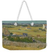 The Harvest Arles  June 1888 Vincent Van Gogh 1853  1890 Weekender Tote Bag