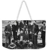 The Hatfields, 1899 - To License For Professional Use Visit Granger.com Weekender Tote Bag