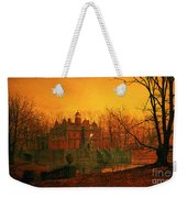 The Haunted House Weekender Tote Bag by John Atkinson Grimshaw