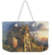 The Haunted House Weekender Tote Bag by Thomas Moran