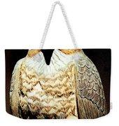 The Hawk Weekender Tote Bag