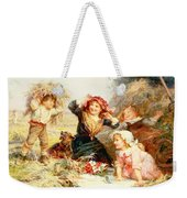 The Haymakers Weekender Tote Bag by Frederick Morgan
