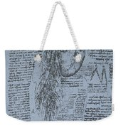 The Heart And The Bronchial Arteries Weekender Tote Bag