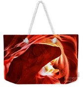 The Heart And The Dog Weekender Tote Bag