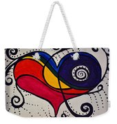The Heart Don't Lie Weekender Tote Bag