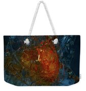 The Heart Of A Glass Blower Weekender Tote Bag