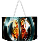 The Heart Of Chaos Abstract Weekender Tote Bag