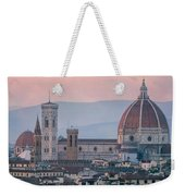 The Heart Of Florence Italy Weekender Tote Bag