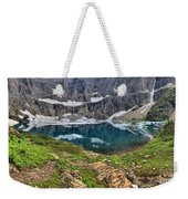 The Heart Of Many Glacier Weekender Tote Bag