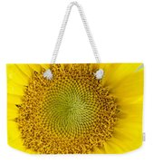 The Heart Of The Sunflower Weekender Tote Bag