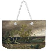 The Heath In A Storm Weekender Tote Bag by Valentin Ruths