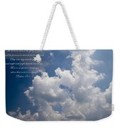 The Heavens Declare The Glory Of God Weekender Tote Bag