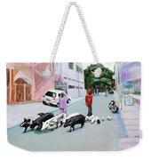 The Herd 5 - Pigs Weekender Tote Bag