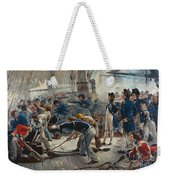 The Hero Of Trafalgar Weekender Tote Bag