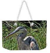 The Heron Weekender Tote Bag