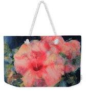 The Hibiscus Weekender Tote Bag