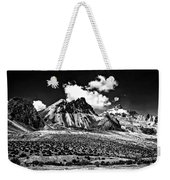 The High Andes Monochrome Weekender Tote Bag