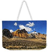 The High Andes Painted Version Weekender Tote Bag