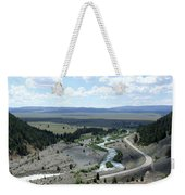 The Highway And The River Weekender Tote Bag