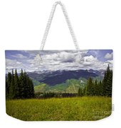 The Hills Are Alive In Vail Weekender Tote Bag