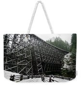 The Historic Kinsol Trestle 3. Weekender Tote Bag