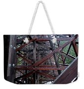 The Historic Kinsol Trestle  Inside View Weekender Tote Bag