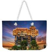 The Hollywood Tower Hotel Disneyland Weekender Tote Bag