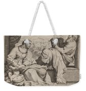 The Holy Family With Saint John The Baptist Weekender Tote Bag