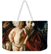 The Holy Family With St. John The Baptist Weekender Tote Bag