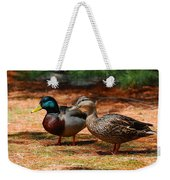 The Honeymooners - Mallard Ducks  Weekender Tote Bag