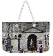 The Horse Guard At Whitehall Weekender Tote Bag