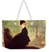 The Horsewoman Weekender Tote Bag