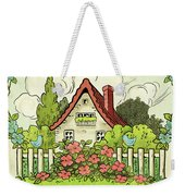 The House At The End Of Storybook Lane Weekender Tote Bag