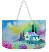 The House By The Lavender Field Weekender Tote Bag
