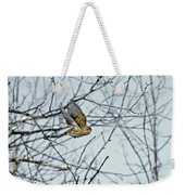 The House Finch In-flight Weekender Tote Bag