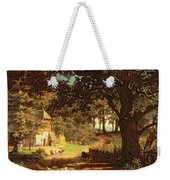 The House In The Woods Weekender Tote Bag by Albert Bierstadt
