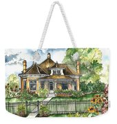 The House On Spring Lane Weekender Tote Bag