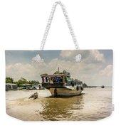 The Houseboat Weekender Tote Bag