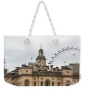 The Household Cavalry Museum London Abstract 2 Weekender Tote Bag