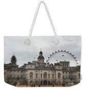 The Household Cavalry Museum Abstract London Abstract Weekender Tote Bag
