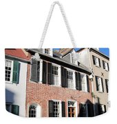 The Houses Of Charleston Weekender Tote Bag